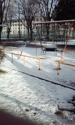 ♪雪でした〜